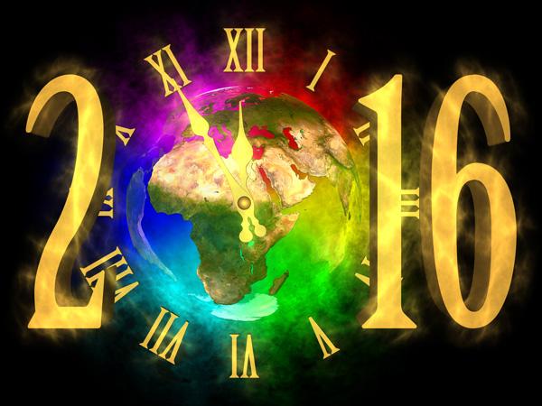 New Year 2016 - Europe
