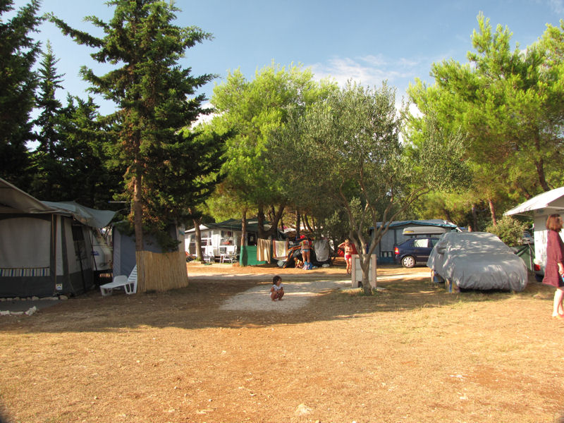 Ubytování chorvatsko kempy