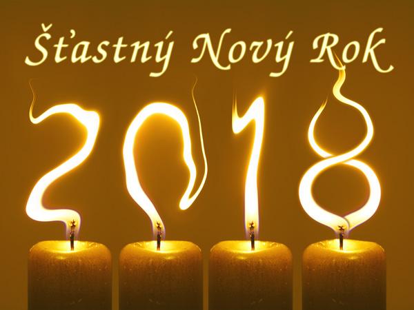 pf 2018 Šťastný Nový Rok