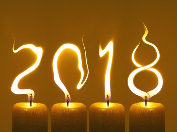 Novoročenka pf 2018 - Šťastný Nový Rok 2018