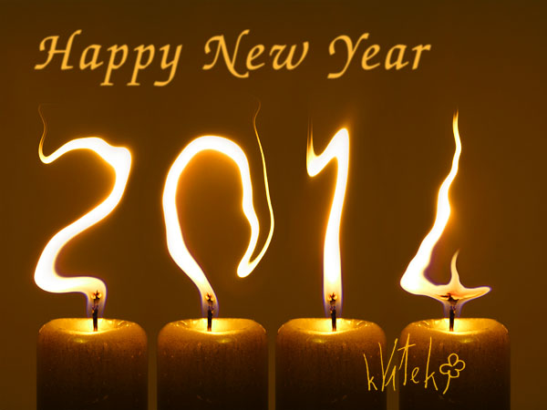 New Year greeting kVítek