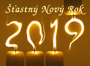 PF 2019 Šťastný Nový Rok