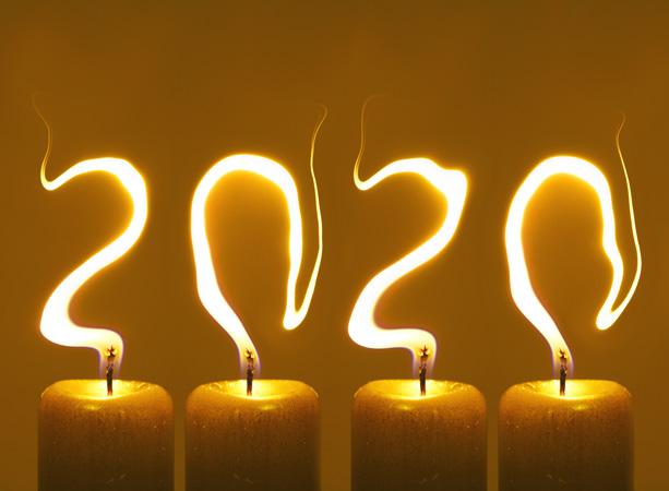 Novoročenka pf 2020 - Šťastný Nový Rok 2020