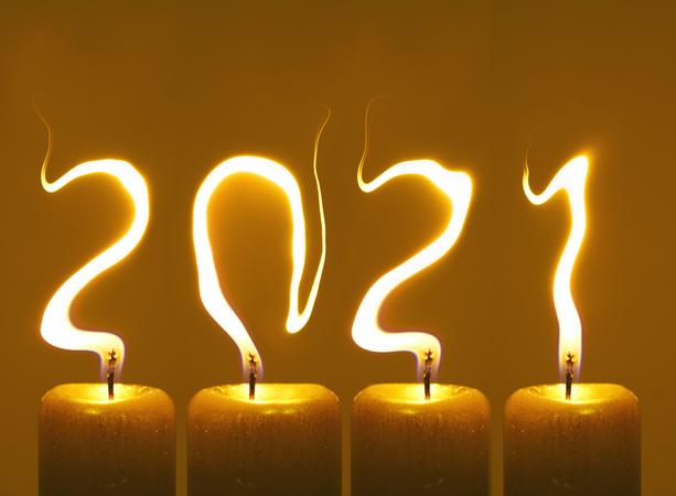 Novoročenka pf 2021 - Šťastný Nový Rok 2021
